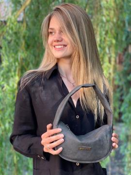 Фото товара: сумка 212317 темно-серый. Фото - 1.
