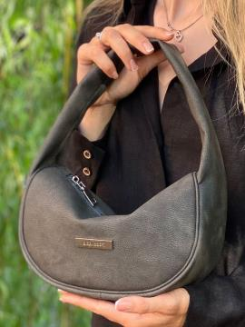 Фото товара: сумка 212317 темно-серый. Фото - 2.
