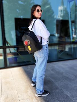 Фото товара: рюкзак 211511 черный. Вид 2.