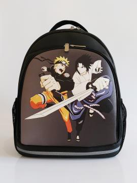 Рюкзак для подростков, юношей и девушек Наруто alba soboni 211714 цвет черный. Фото - 1