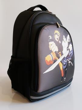 Рюкзак для подростков, юношей и девушек Наруто alba soboni 211714 цвет черный. Фото - 2