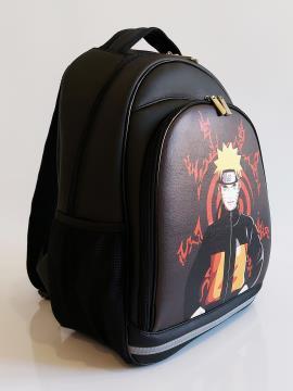 Школьный рюкзак для подростков аниме Наруто alba soboni 211715 цвет черный. Фото - 2