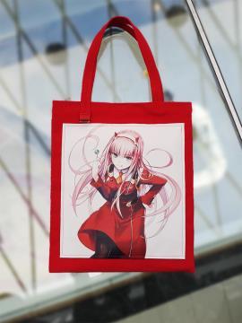 Фото товара: шоппер 211544 красный. Фото - 1.