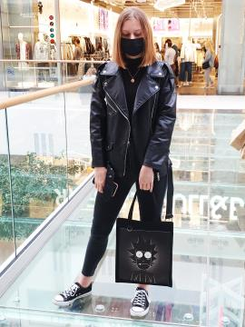 Фото товара: шоппер 211547 черный. Фото - 2.