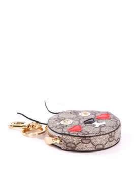 Стильный брелок мини сумочка заяц серая. Изображение товара, вид 2