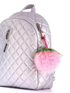 Модный брелок шар ананас большой розовый. Изображение товара, вид 2