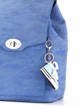 Брендовий брелок кеди блакитний. Зображення товару, вид 2