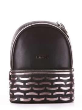 Школьный рюкзак, модель 181433 черный. Изображение товара, вид сбоку.