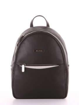 Школьный рюкзак, модель 181521 черный. Изображение товара, вид сбоку.