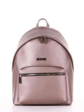 Школьный рюкзак, модель 181713 бронза. Изображение товара, вид сбоку.
