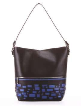 Школьная сумка, модель 181441 черный. Изображение товара, вид сбоку.