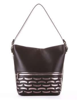 Школьная сумка, модель 181443 черный. Изображение товара, вид сбоку.