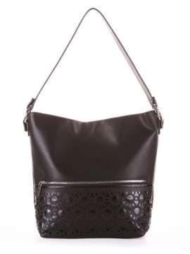 Школьная сумка, модель 181444 черный. Изображение товара, вид сбоку.