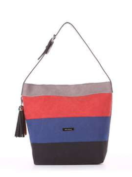 Школьная сумка, модель 181811 черный. Изображение товара, вид спереди.