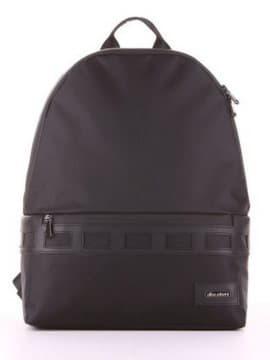 Школьный рюкзак - unisex, модель 181611 черный. Изображение товара, вид сбоку.