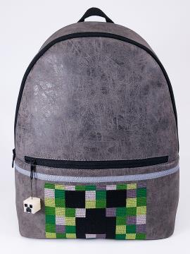 Фото товара: детский рюкзак 2072 серый. Вид 1.