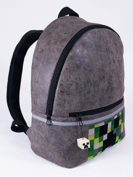 Фото товара: детский рюкзак 2072 серый. Вид 2.