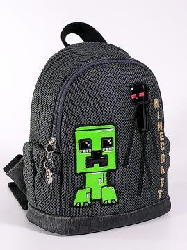 Фото товара: дитячий рюкзак 2082 темно-сірий. Вид 2.