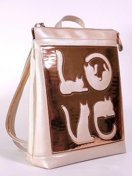 Фото товара: рюкзак 2101 перлинний. Вид 1.