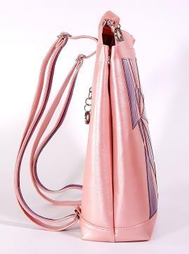 Фото товара: рюкзак 2102 рожевий-перламутр. Вид 2.