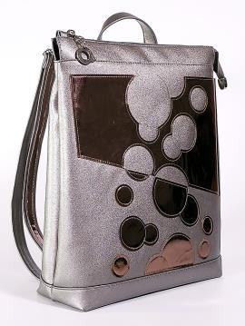 Фото товара: рюкзак 2104 нікель. Вид 1.