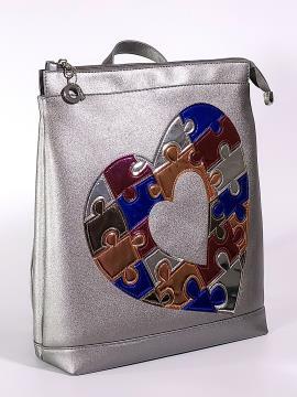 Фото товара: рюкзак 2106 нікель. Вид 1.