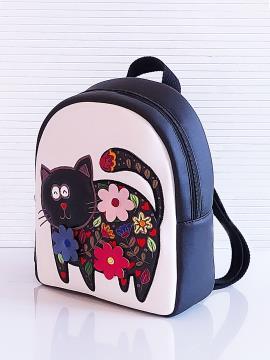 Фото товара: рюкзак KH0141 білий-чорний. Вид 2.