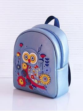 Фото товара: рюкзак KH0143 блакитний. Вид 2.