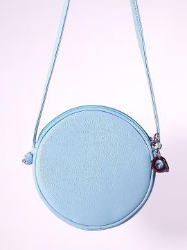 Фото товара: сумка через плече 2065 білий-блакитний. Вид 2.