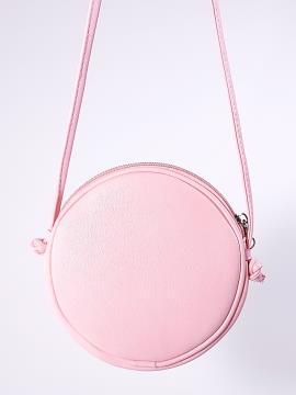 Фото товара: сумка через плече 2066 білий-рожевий. Вид 2.