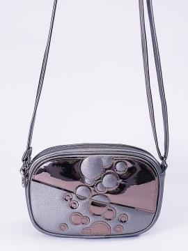 Фото товара: сумка через плече 2114 нікель. Вид 1.