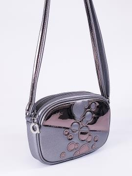 Фото товара: сумка через плече 2114 нікель. Вид 2.