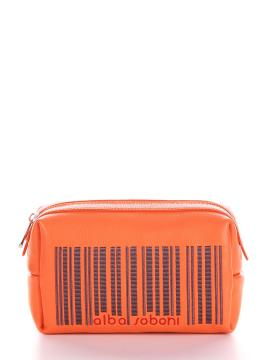 Фото товара: косметичка 622 оранжевый. Вид 1.
