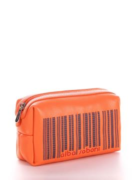 Фото товара: косметичка 622 оранжевый. Вид 2.