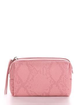Фото товара: косметичка 637 пудрово-рожевий. Вид 1.