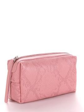 Фото товара: косметичка 637 пудрово-рожевий. Вид 2.