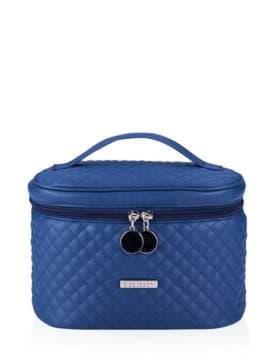 Стильна косметичка, модель 321 синій. Зображення товару, вид спереду.