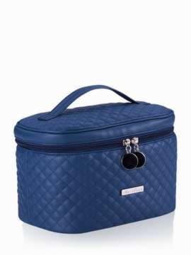 Стильна косметичка, модель 321 синій. Зображення товару, вид збоку.