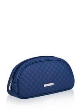 Модна косметичка, модель 341 синій. Зображення товару, вид спереду.