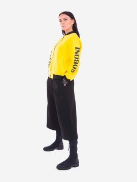 Фото товара: жіночий костюм з кюлотами L (202-001-01). Вид 2.