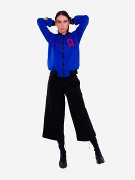 Фото товара: женский костюм с кюлотами L (202-005-01). Вид 1.