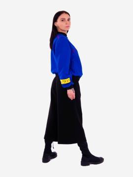 Фото товара: жіночий костюм з кюлотами L (202-005-01). Вид 2.