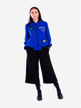 Фото товара: жіночий костюм з кюлотами L (202-006-01). Вид 1.