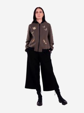 Фото товара: женский костюм с кюлотами L (202-008-01). Вид 1.