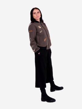 Фото товара: жіночий костюм з кюлотами L (202-008-01). Вид 2.