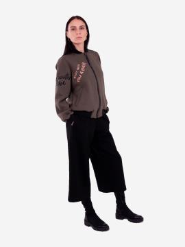 Фото товара: женский костюм с кюлотами L (202-009-01). Вид 1.
