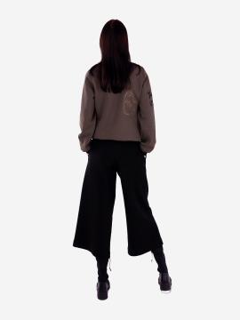 Фото товара: жіночий костюм з кюлотами L (202-009-01). Вид 2.