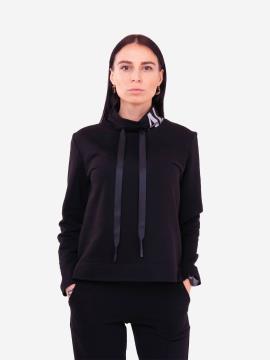 Фото товара: жіночий костюм з брюками L чорний (202-016-02). Вид 2.