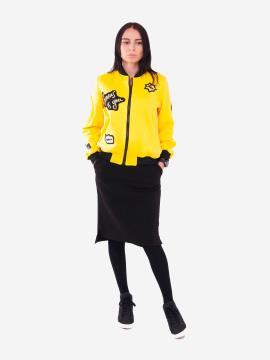 Фото товара: жіночий костюм з юбкою L (202-003-03). Вид 1.