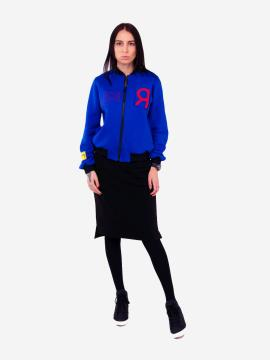 Фото товара: жіночий костюм з юбкою L (202-005-03). Вид 1.